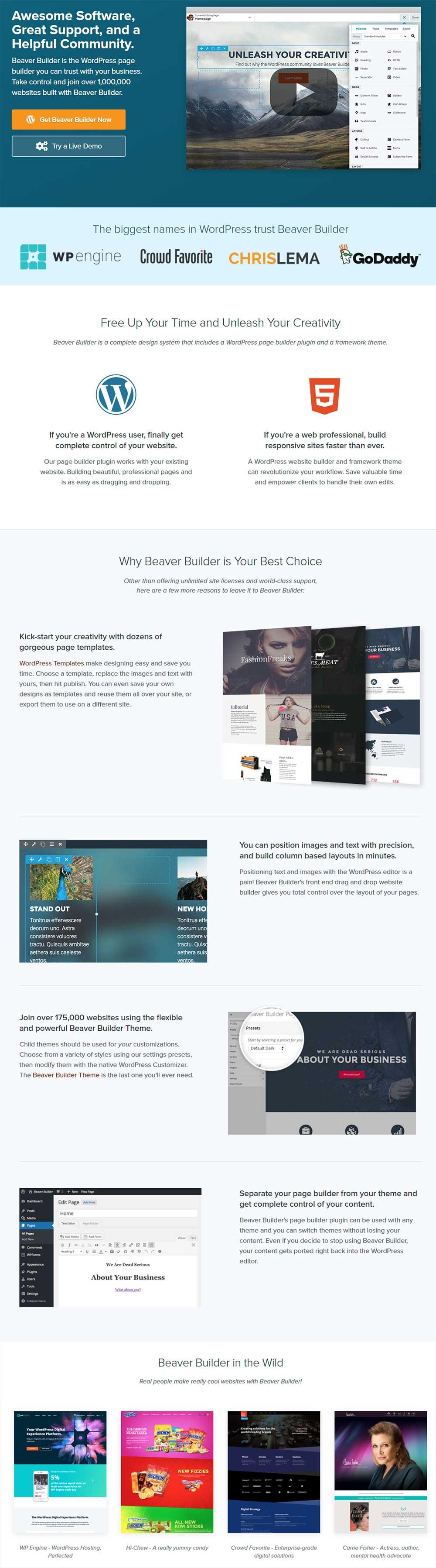 Beaver Builder - WordPress Page Builder Plugin
