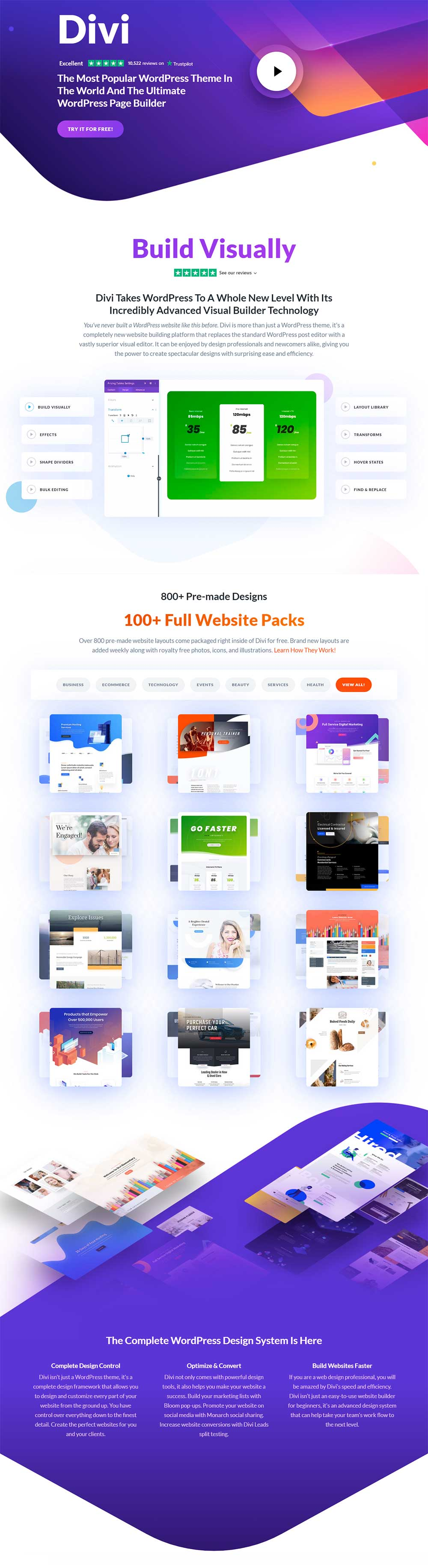 Divi - WordPress Page Builder Plugin