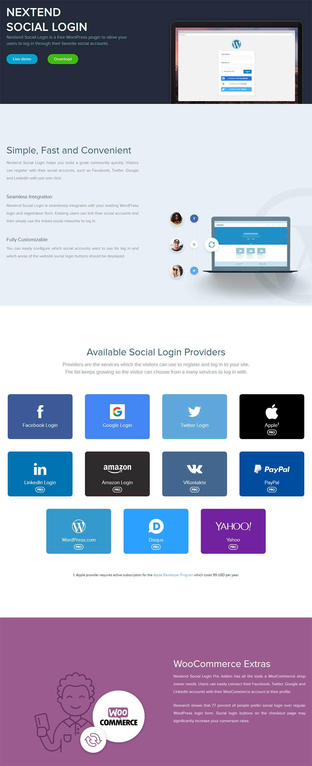 Nextend Social Login - WordPress Login & Registration Plugin