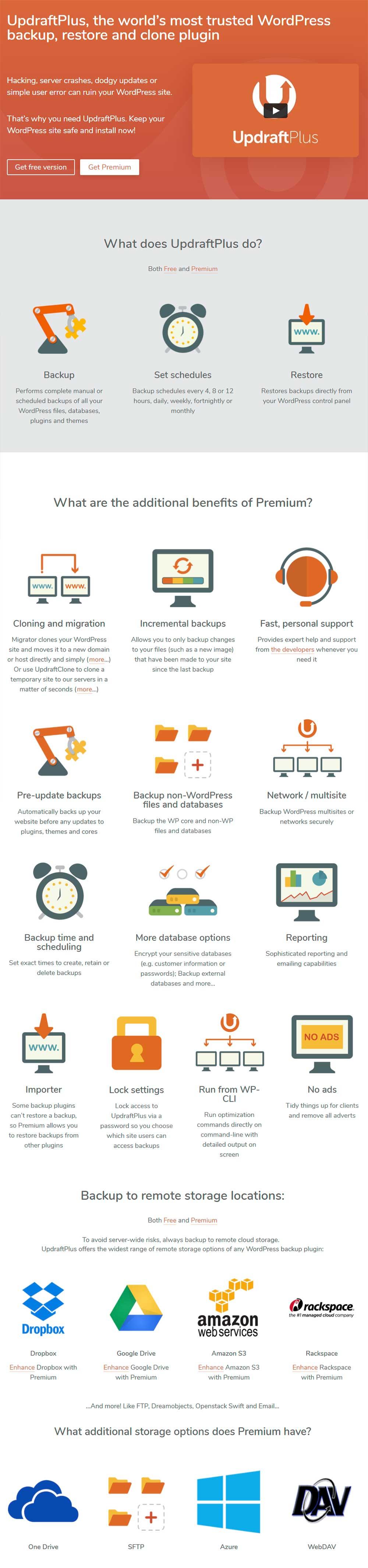 UpdraftPlus - WordPress Backup Plugin