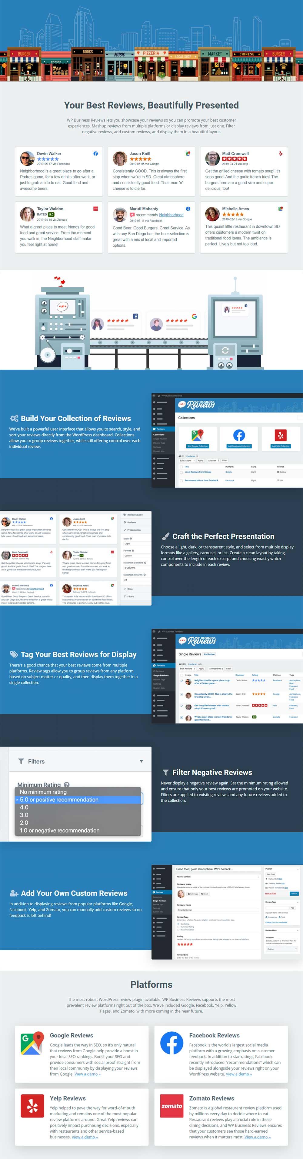 WP Business Reviews - WordPress Reviews Plugin