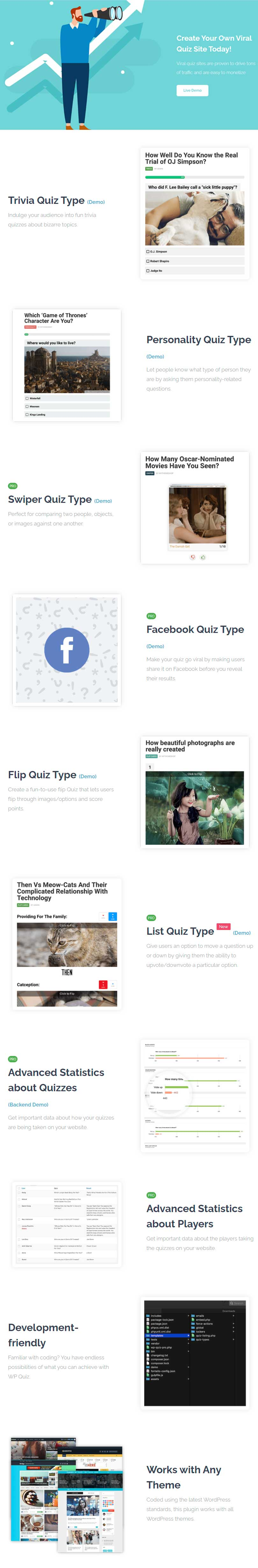 WP Quiz - WordPress Quiz Plugin
