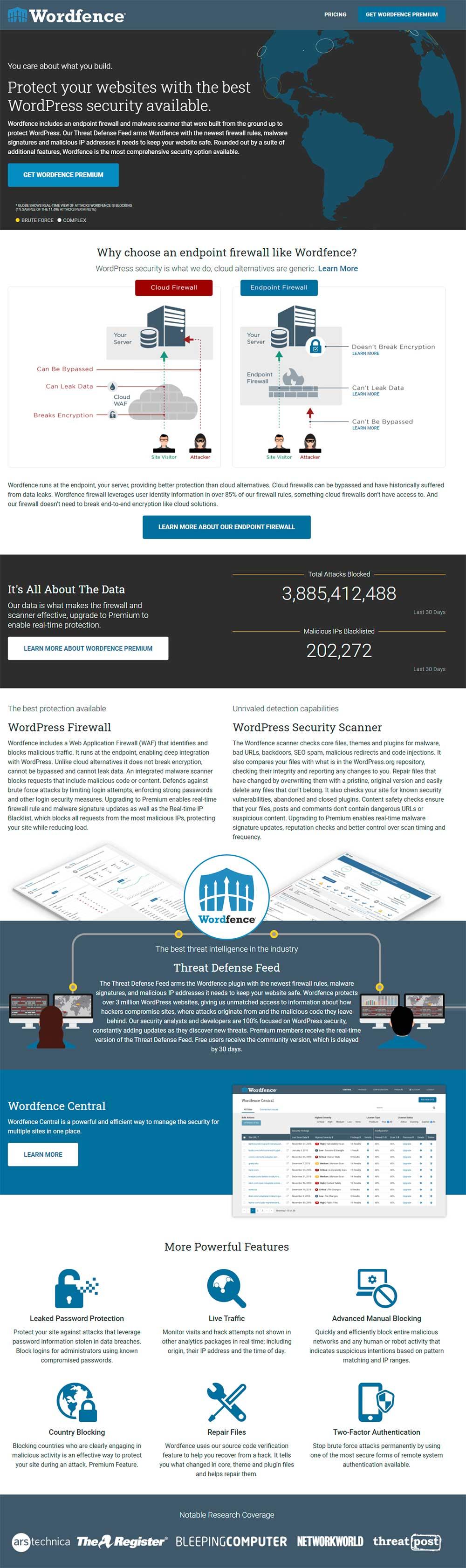 Wordfence - WordPress Security Firewall Plugin