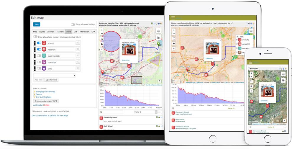 Maps Marker Pro - WordPress Maps Plugin
