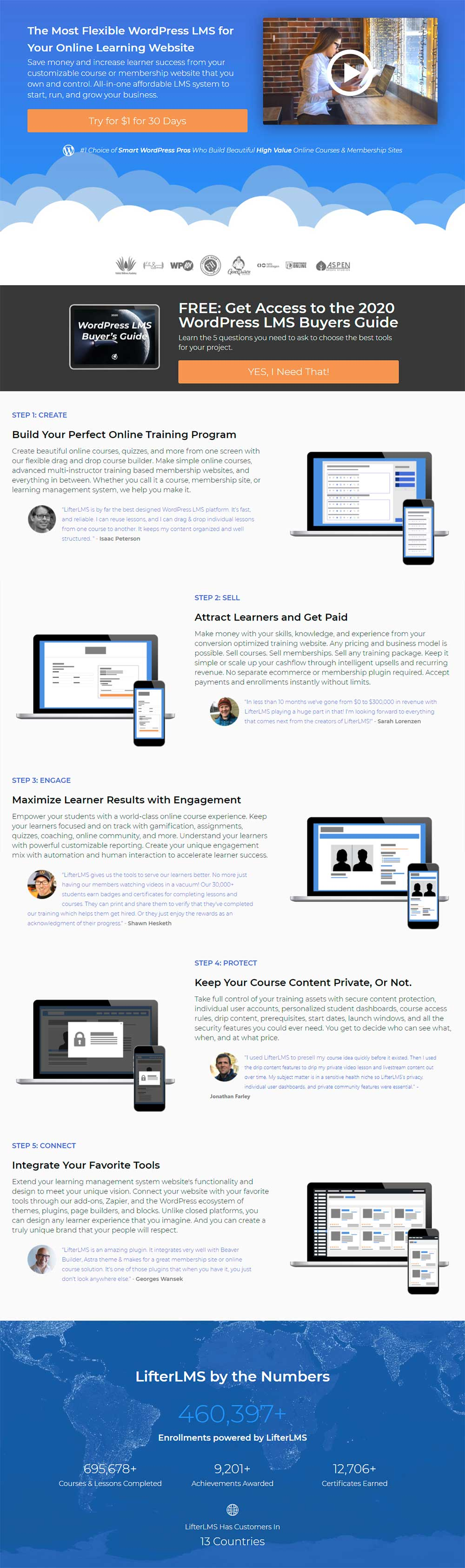 Lifter LMS - WordPress eLearning LMS Plugin