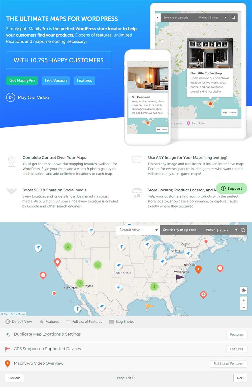 MapifyPro - WordPress Maps Plugin