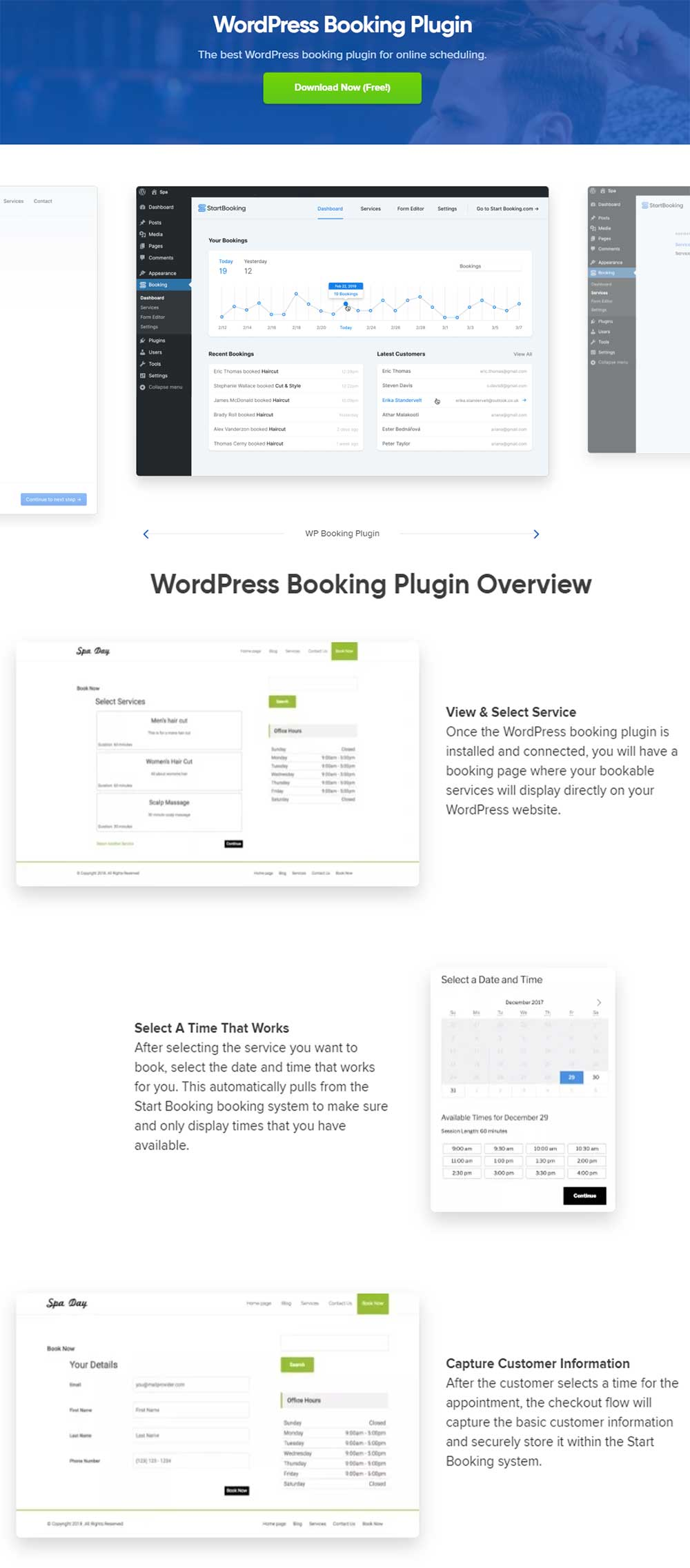 StartBooking - WordPress Appointment Booking Plugin