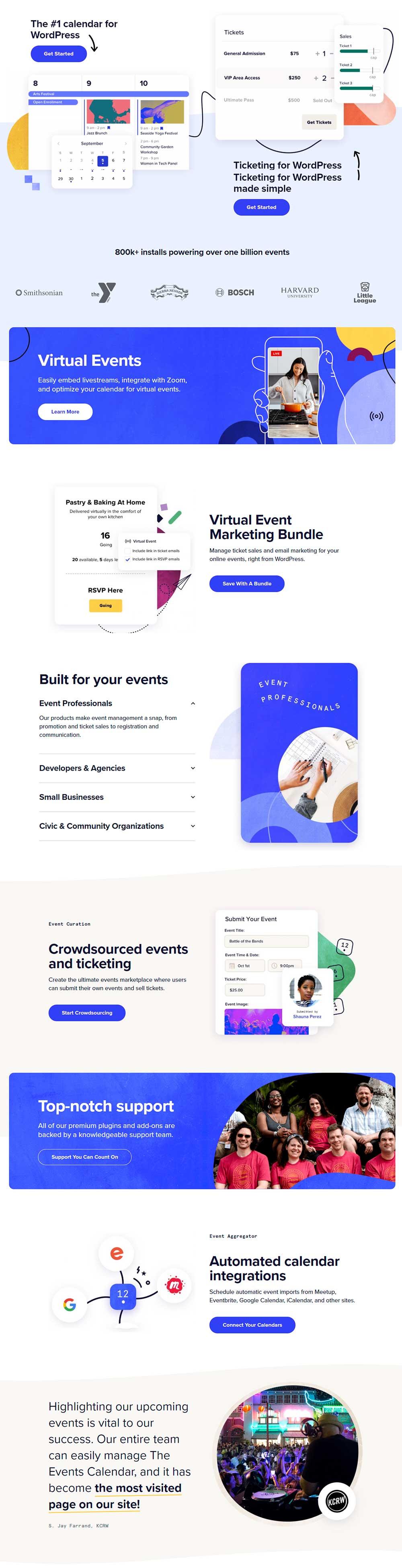 The Events Calendar - WordPress Calendar Plugin