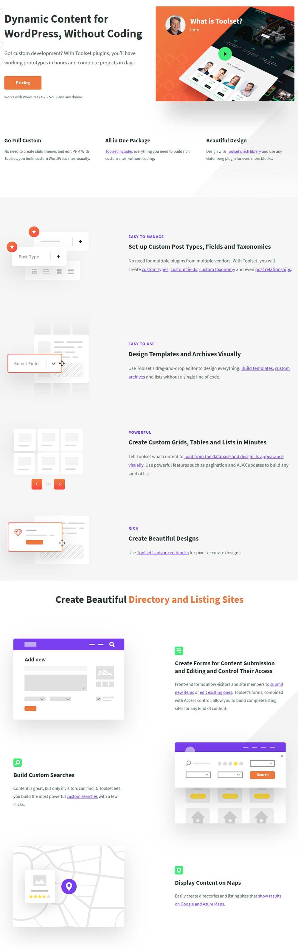 Toolset - WordPress Dynamic Content Plugin