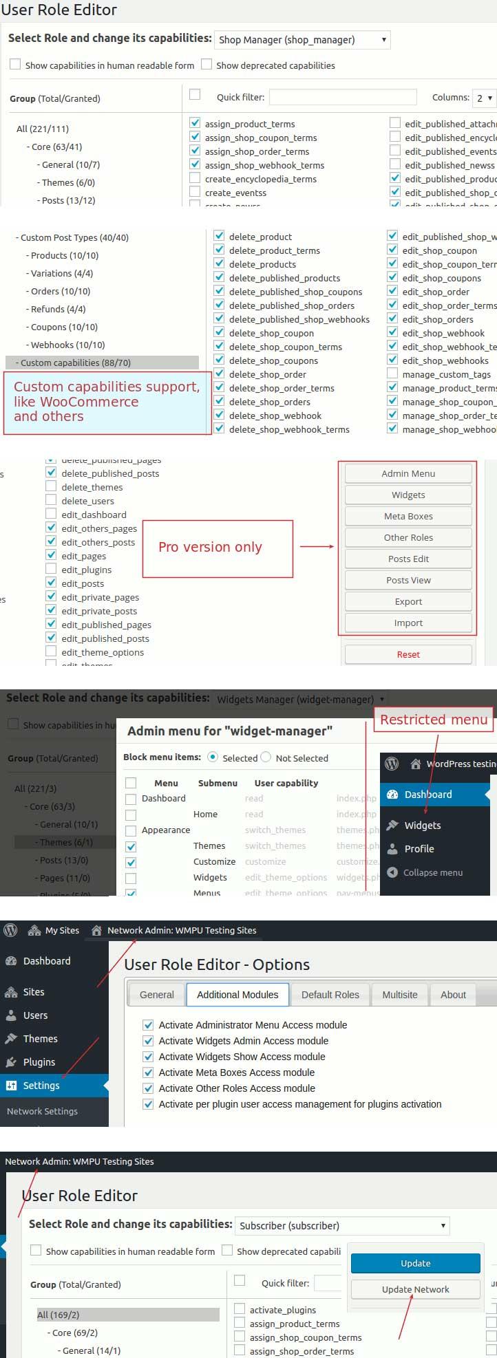 User Role Editor - WordPress User Role Plugin