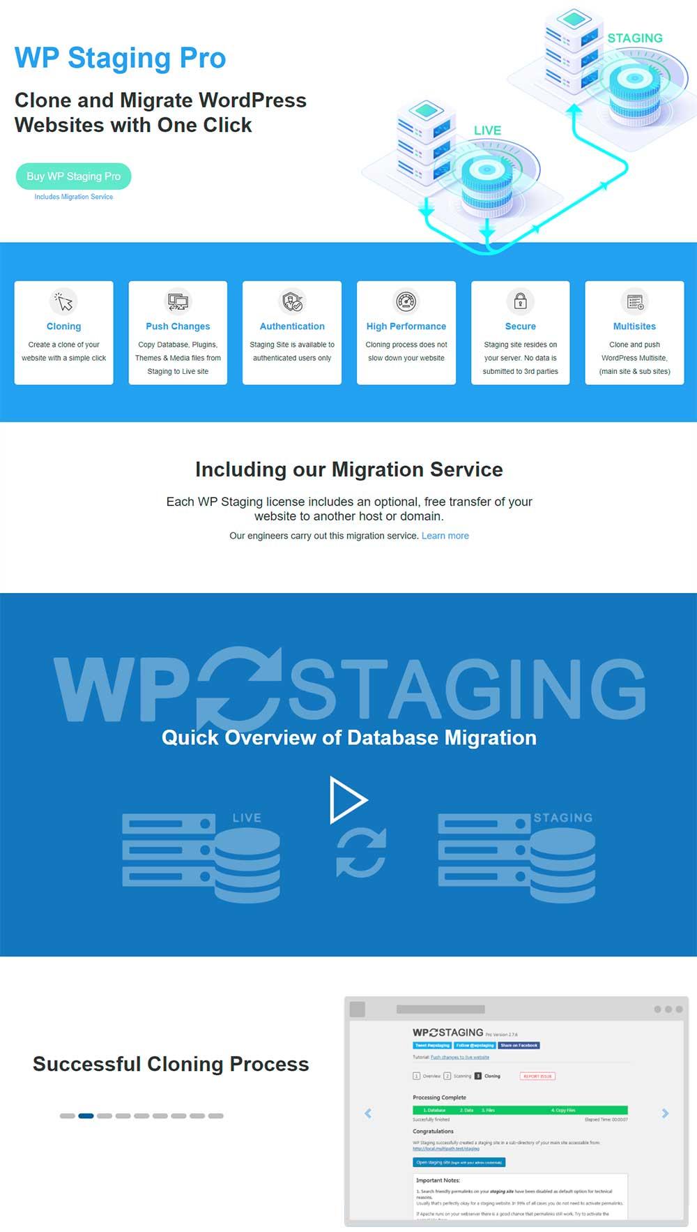 WP Staging - WordPress Staging Plugin