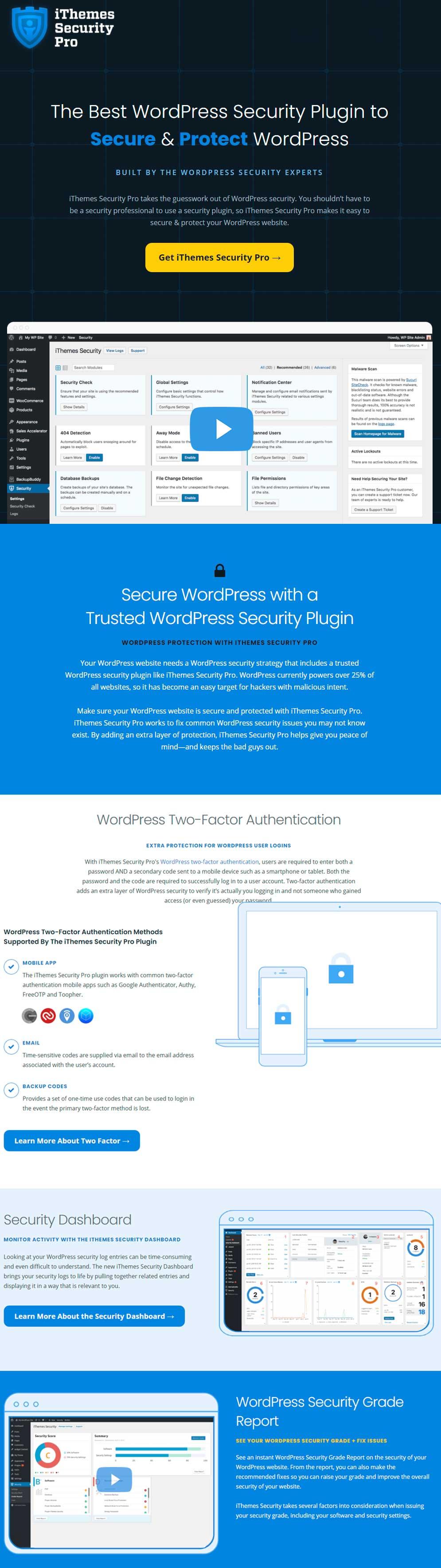 iThemes Security - WordPress Security Firewall Plugin